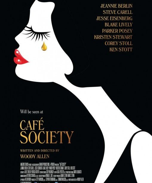 """Cafe Society"" by Woody Allen!"