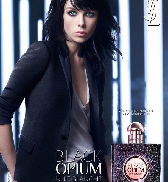 Black opium Nuit Blanche. YSL Urban DNA.
