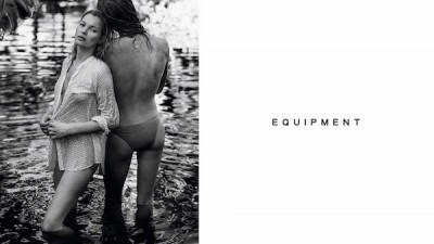 Kate Moss X Equipment… with Daria Werbowy