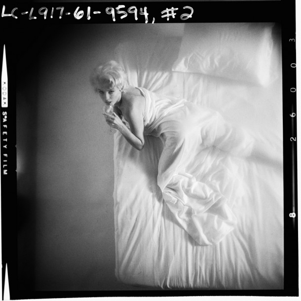 With Marilyn: An Evening/1961 by Douglas Kirkland.