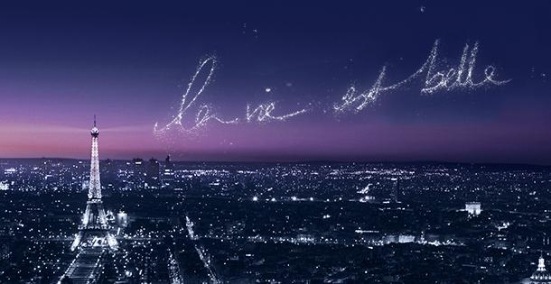 La vie est belle. The new film by Lancôme