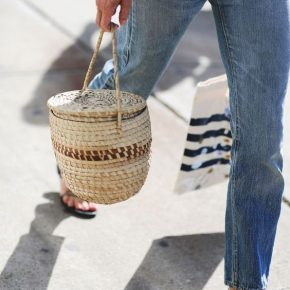 Straw touch – Basket bags!