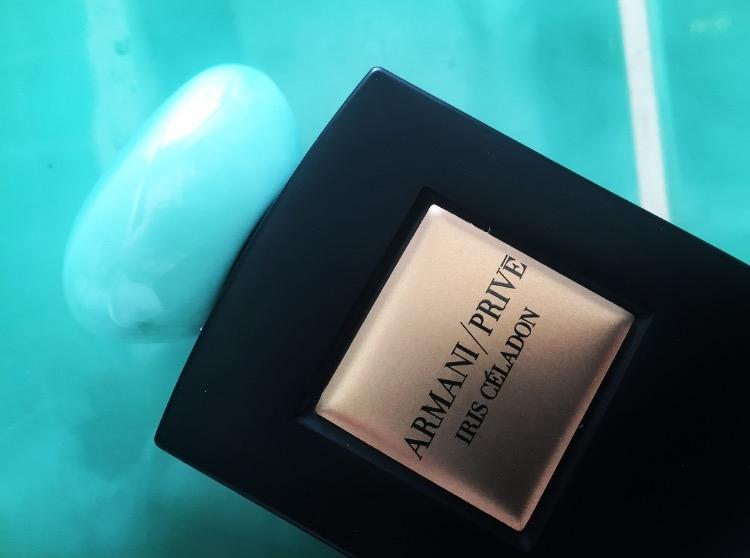 Genious in a Bottle! Armani Prive La Collection / Iris Celadon by Giorgio Armani!
