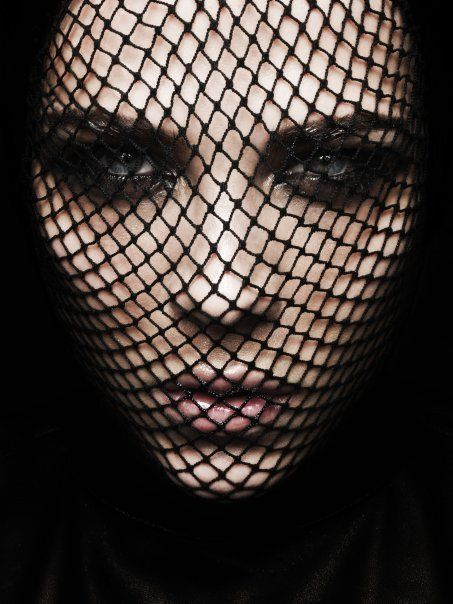 Getting Dizzy Looking at my fishnets!