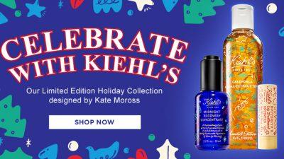 Χριστούγεννα με την Kiehl's! Shop now!
