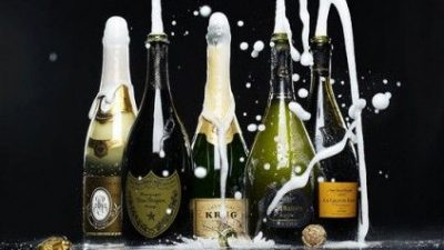 Pop Idols – Champagne! Sparkling wine is exploding!