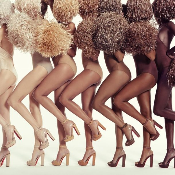 The nude high heels sandals Collection by Christian Louboutin!