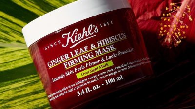 Kiehl's Ginger Leaf & Hibiscus Firming Mask!