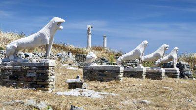 Δήλος – Το ιερό ακατοίκητο νησί των Κυκλάδων!