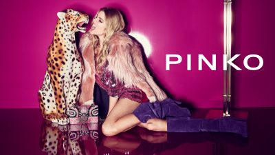 Stella Maxwell for PINKO FALL – WINTER 2018-2019!