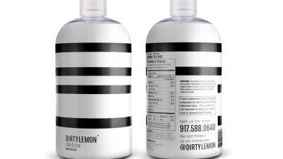 Dirty Lemon – Charcoal Lemonade!
