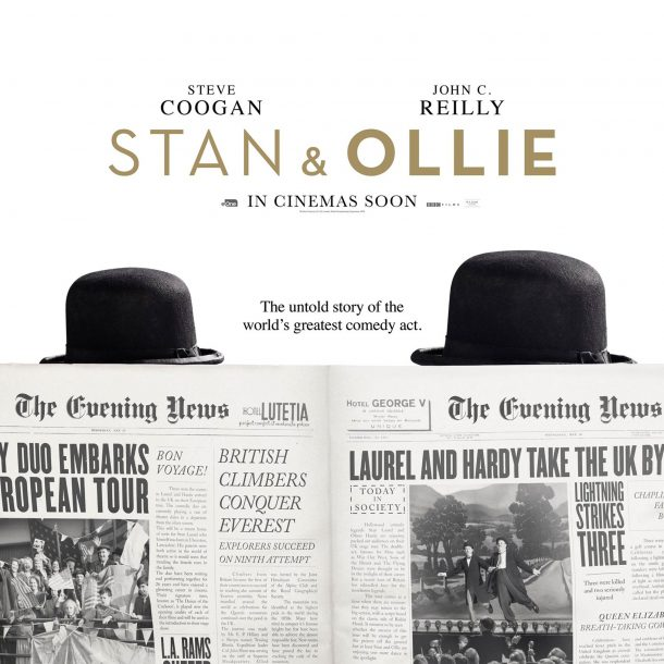 """""""Stan & Ollie  """" – The Legendary Comedy Duo…"""