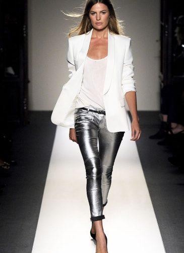 Balmain-Silver-Pants