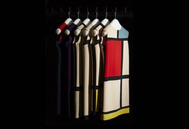 Paris – Musée Yves Saint Laurent goes Mondrian!