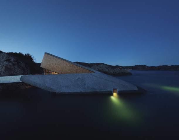 """Under"" – Tο πρώτο υποθαλάσσιο εστιατόριο της Ευρώπης, στη Νορβηγία!"