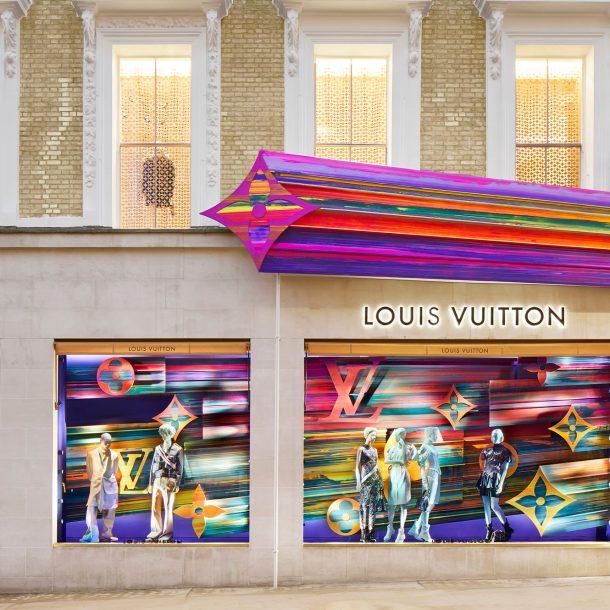 Λονδίνο – Στο νέο εντυπωσιακό κατάστημα Louis Vuitton!