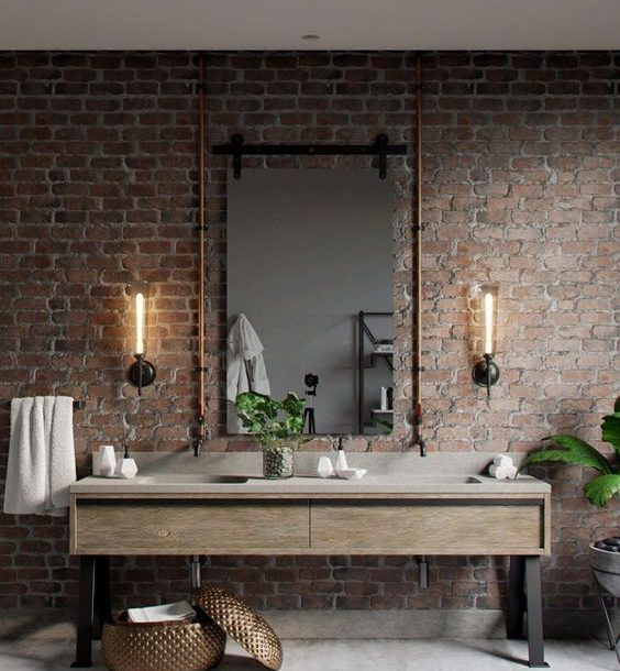 """Another brick in the wall"" – The Industrial style!"