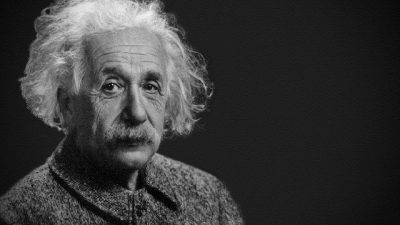 Albert Einstein(14.03.1879-18.04.1955)-You can't blame gravity for falling in love""