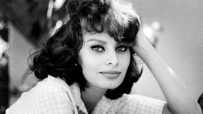 """Sophia Loren – """"Everything you see i owe to spaghetti""""!"""