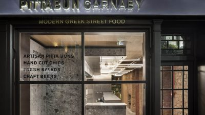 "London ""PittaBun"" – Modern Greek Street Food!"