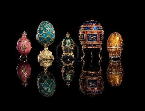 Από τα κόκκινα αυγά…στα αυγά Fabergé!