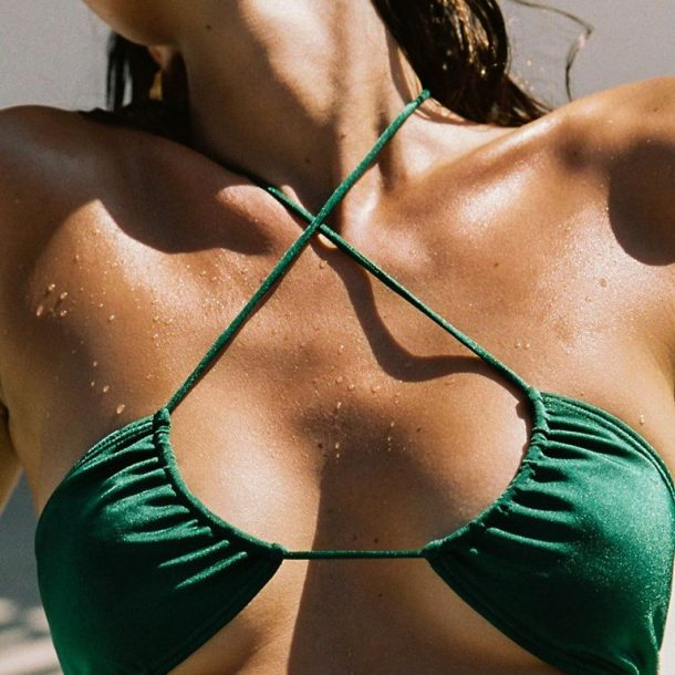 Stringy Bikini Bottoms – Get In the Water!