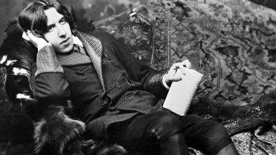 """Oscar Wilde (16.10.1854-30.11.1900) – """"Writing bores me so""""!"""