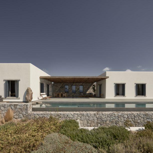 Villa Mandra – Μια μποέμ κατοικία στη Μύκονο!