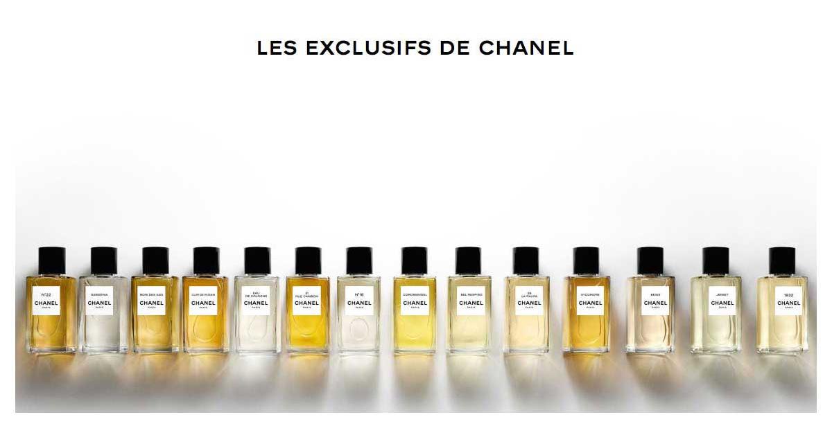 Les Exclusifs De Chanel –  Κάθε μυρωδιά φέρει το αποτύπωμα της αστείρευτης κομψότητας της Chanel!