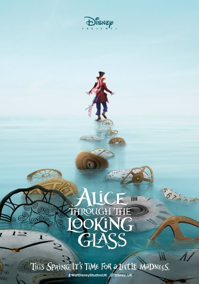 Alice in Wonderland 2! Through the looking glass! Memorial day, 27 May 2016.